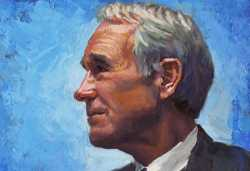 Painting of Ron Paul