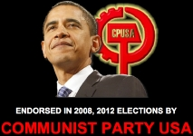 Obama endorsed in 2008 and 2012 elections by Communist Party USA