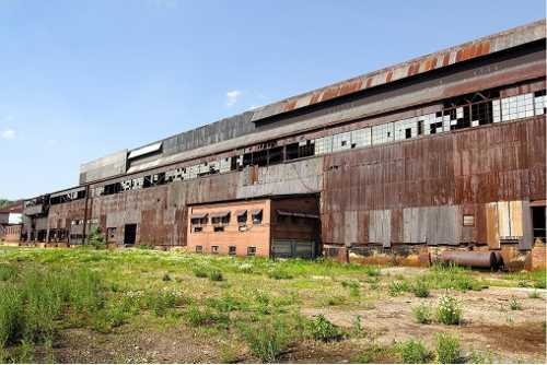 Shuttered steelmill from Trumbull, County, Ohio