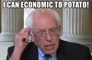 Bernie Sanders: I can economic to potato