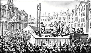 Public beheading during France's Reign of Terror.